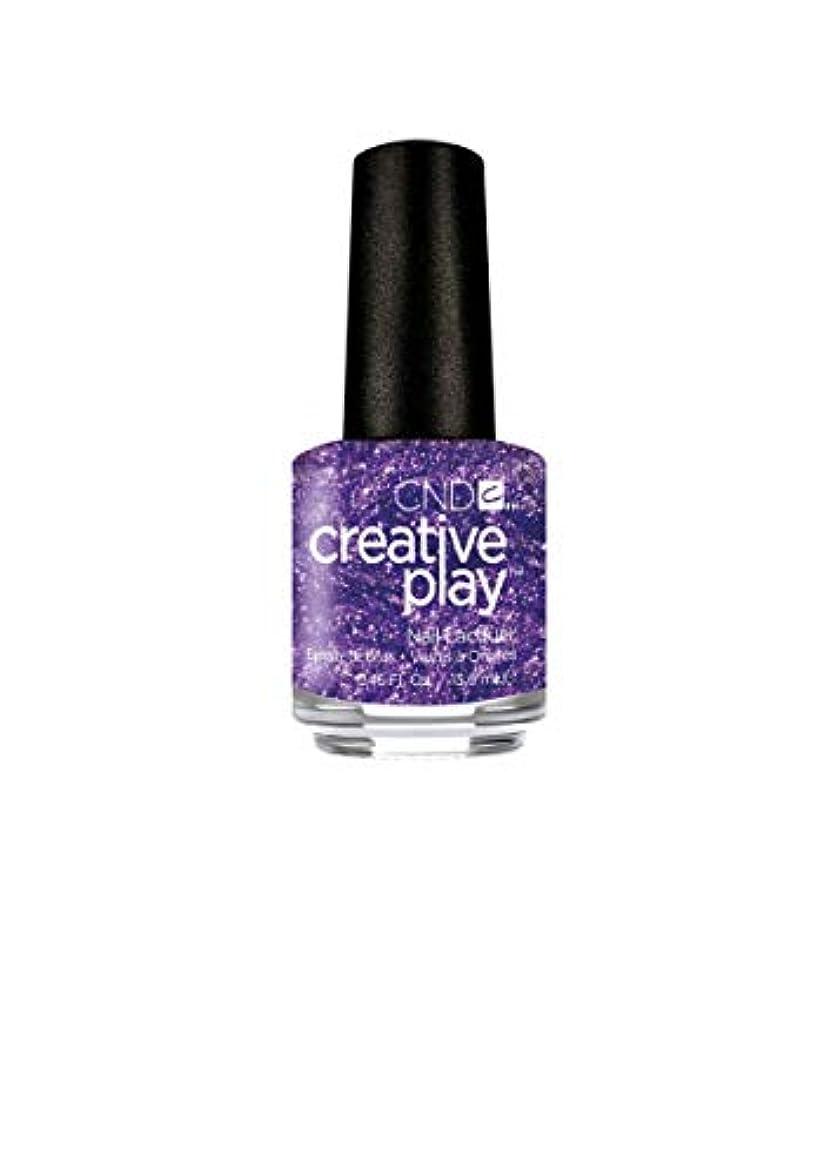 比較的パテ保守的CND Creative Play Lacquer - Miss Purplelarity - 0.46oz / 13.6ml