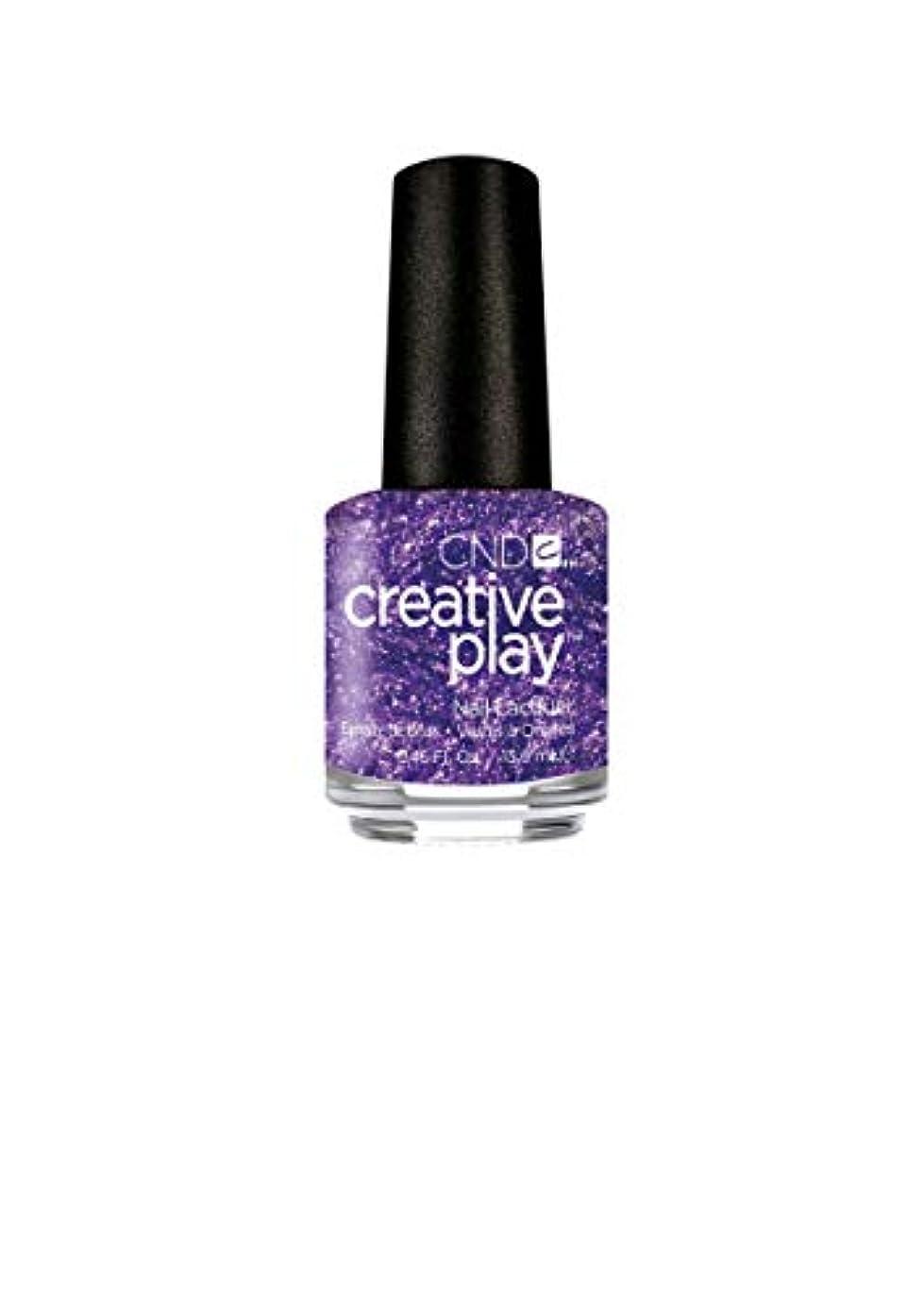グラス脅かすゴールデンCND Creative Play Lacquer - Miss Purplelarity - 0.46oz / 13.6ml