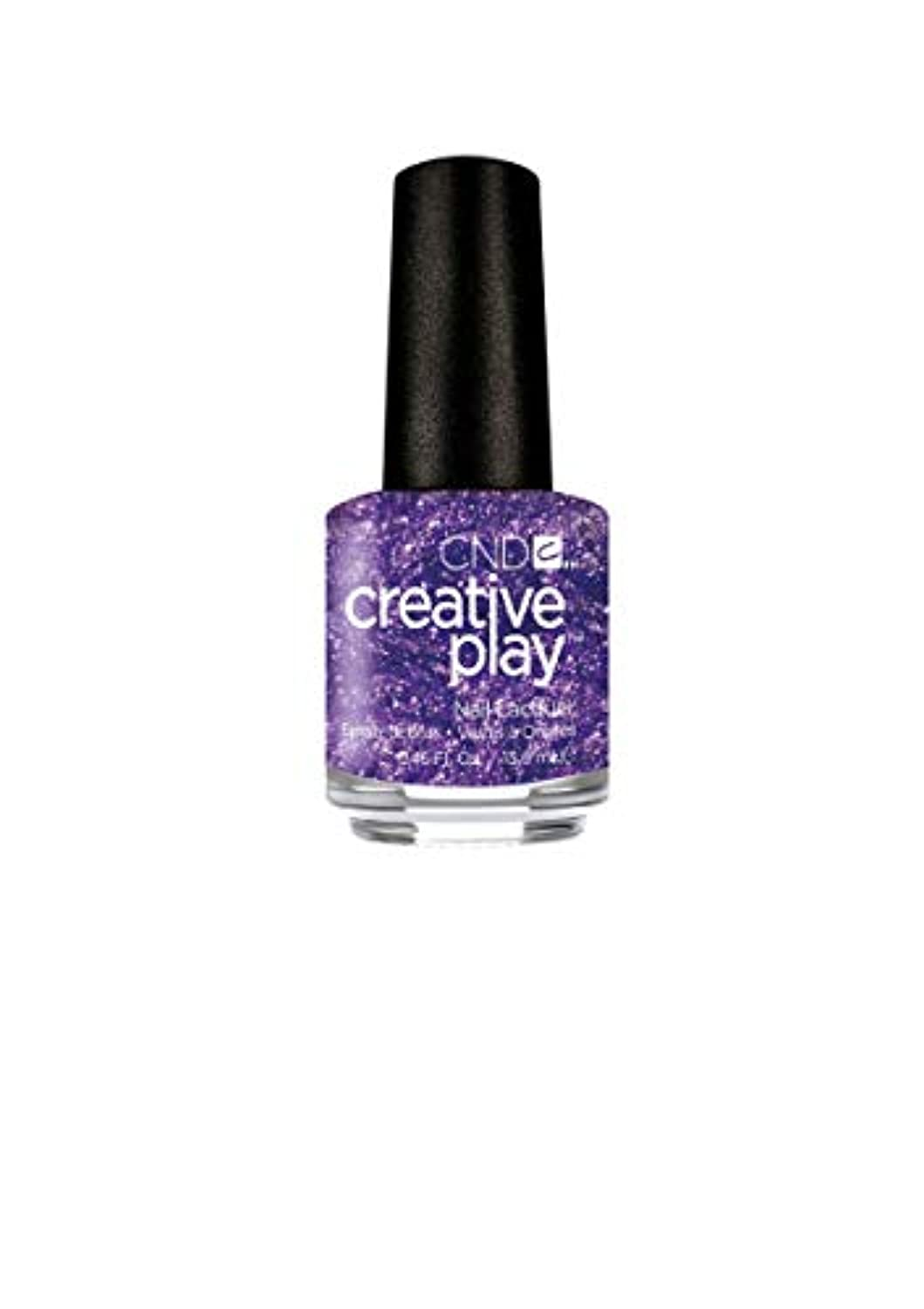 CND Creative Play Lacquer - Miss Purplelarity - 0.46oz / 13.6ml