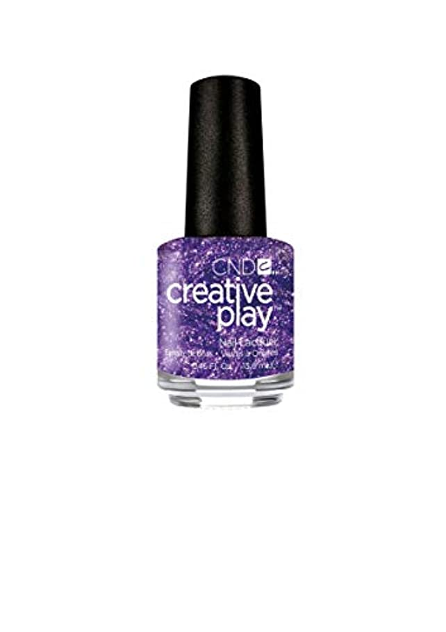 複雑なトレイ居心地の良いCND Creative Play Lacquer - Miss Purplelarity - 0.46oz / 13.6ml