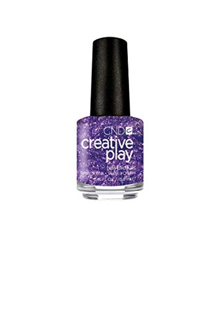 排泄する日光退屈CND Creative Play Lacquer - Miss Purplelarity - 0.46oz / 13.6ml