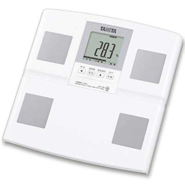 集まるシチリアクモタニタ 体組成計 日本製 BC-765-WH(ホワイト) 体重 体脂肪率 筋肉量 内臓脂肪レベル 基礎代謝量 乗るピタ機能付きで簡単測定