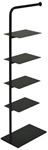 Stack rack シューズラック-5足用(ブラック) UD07-BL
