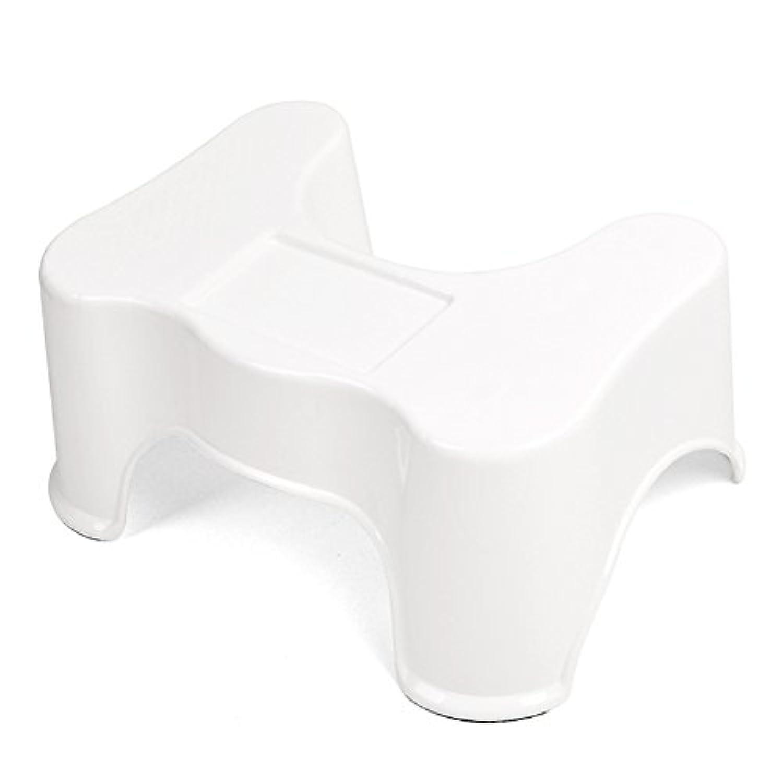 [スゴフィ]SGFY 子ども トイレ踏み台 ステップ 安全補助踏み台 足置き台 人気 便座 補助台 子供 お手洗い 踏ん張り 便秘解消 大人 おもしろ (ホワイト)
