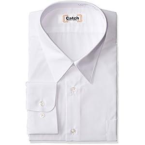 (キャッチ)Catch 形態安定 男子用 長袖Yシャツ S444071 ホワイト 170