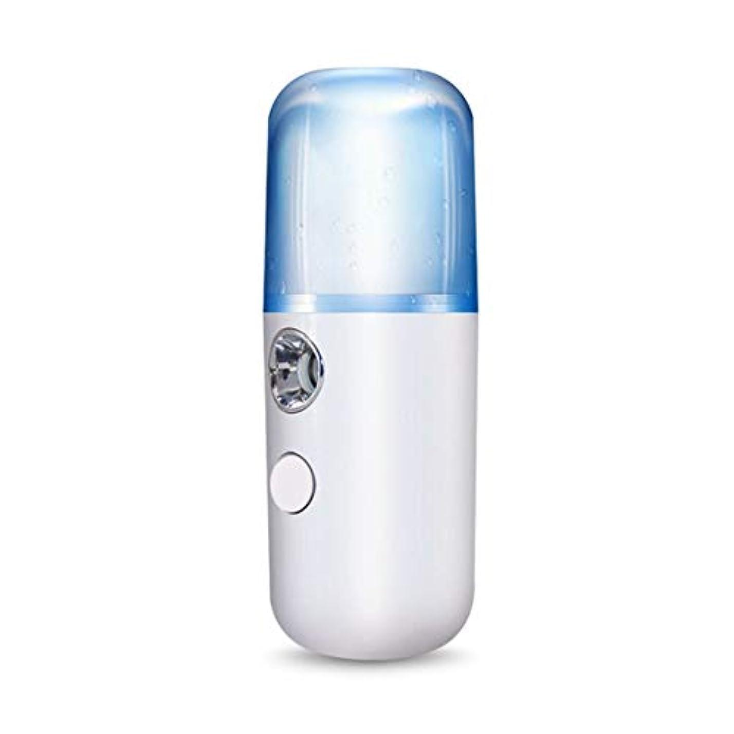 ガウン断線マガジンIntercorey Nano Portable Fog Sprayer Body Nebulizer Facial Steamer Moisturizing Skin Care Mini Facial Spray Beauty...