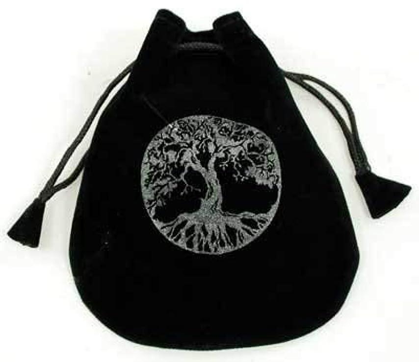 肉のに賛成ビートCircuitOffice 生命の樹 ベルベットバッグ