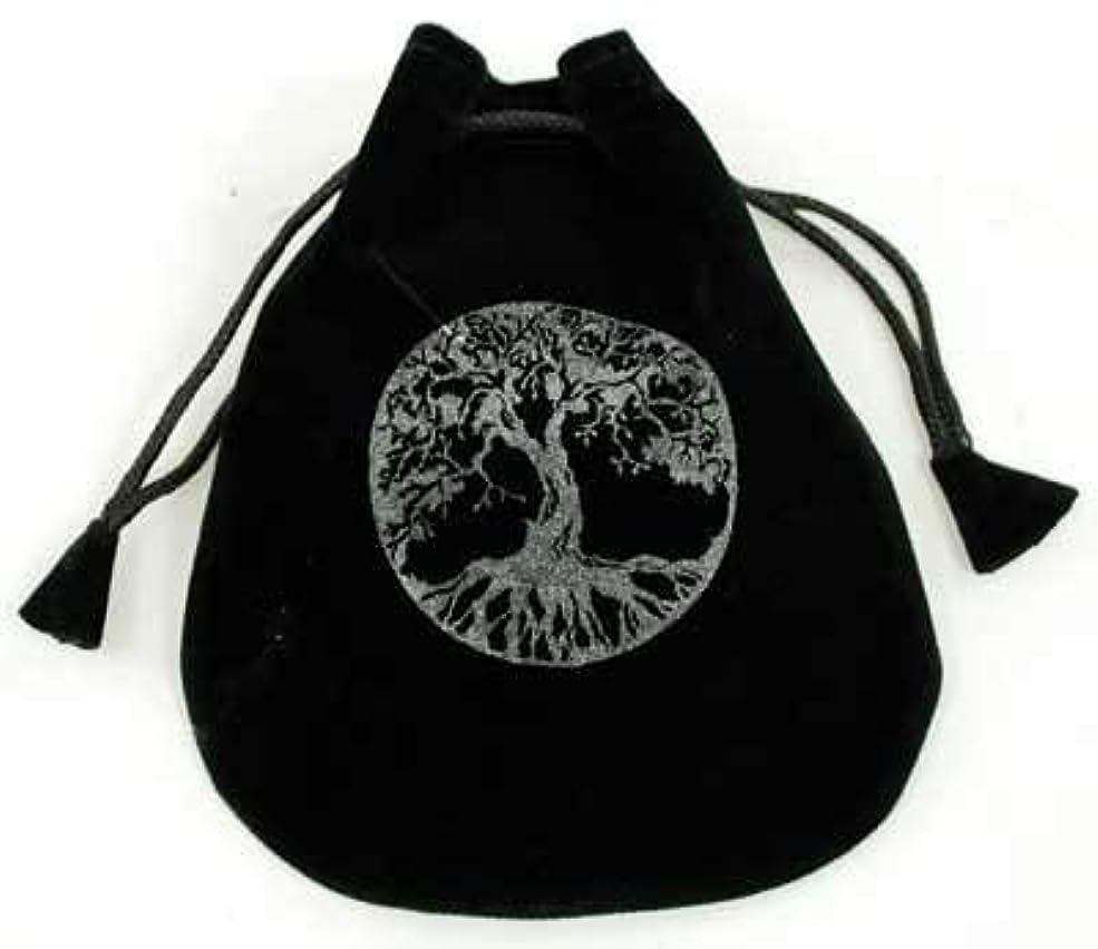 どっちでも要塞ベスビオ山CircuitOffice 生命の樹 ベルベットバッグ