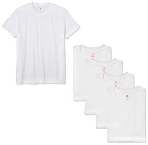 (ヘインズ) Hanes Tシャツ 【アマゾン限定】丸首 5枚組 HM1EK706J ホワイト M