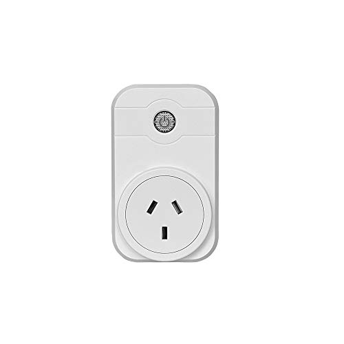 Smart Plug,WiFi Socket Compatible with Alexa and Google Assistant, No Hub Required, App Support Control Your Devices from Anywhere (White)