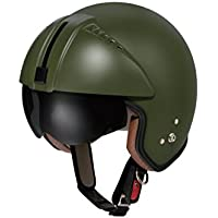 ZERO パイロットヘルメット ZEROII マットカーキ VKH-ZEROII M.KH ジェット