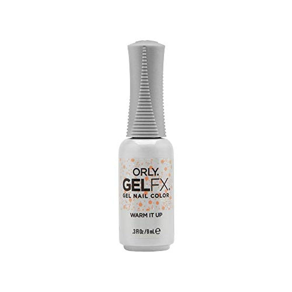 ひも床を掃除する参照ORLY Gel FX - Euphoria 2019 Collection - Warm It Up - 0.3 oz / 9 mL