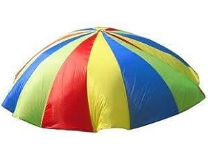 パラバルーン 3m 4色 プレイパラシュート 幼稚園 保育園( 持ち手16箇所タイプ)[Desirable