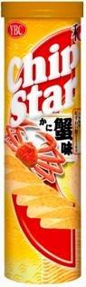 ヤマザキビスケット チップスターL蟹味 1箱(6入)