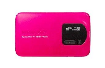 WiMAX2+Speed Wi-Fi NEXT NAD32SPU マゼンタ NEC WX02