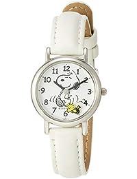 [シチズン Q&Q] キッズ腕時計 PEANUTS(ピーナッツ) スヌーピー P003-314 ガールズ ホワイト