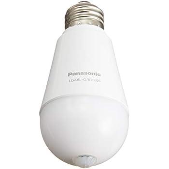 パナソニック LED電球 E26口金 電球60形相当 電球色相当(7.8W) 一般電球・人感センサー LDA8LGKUNS