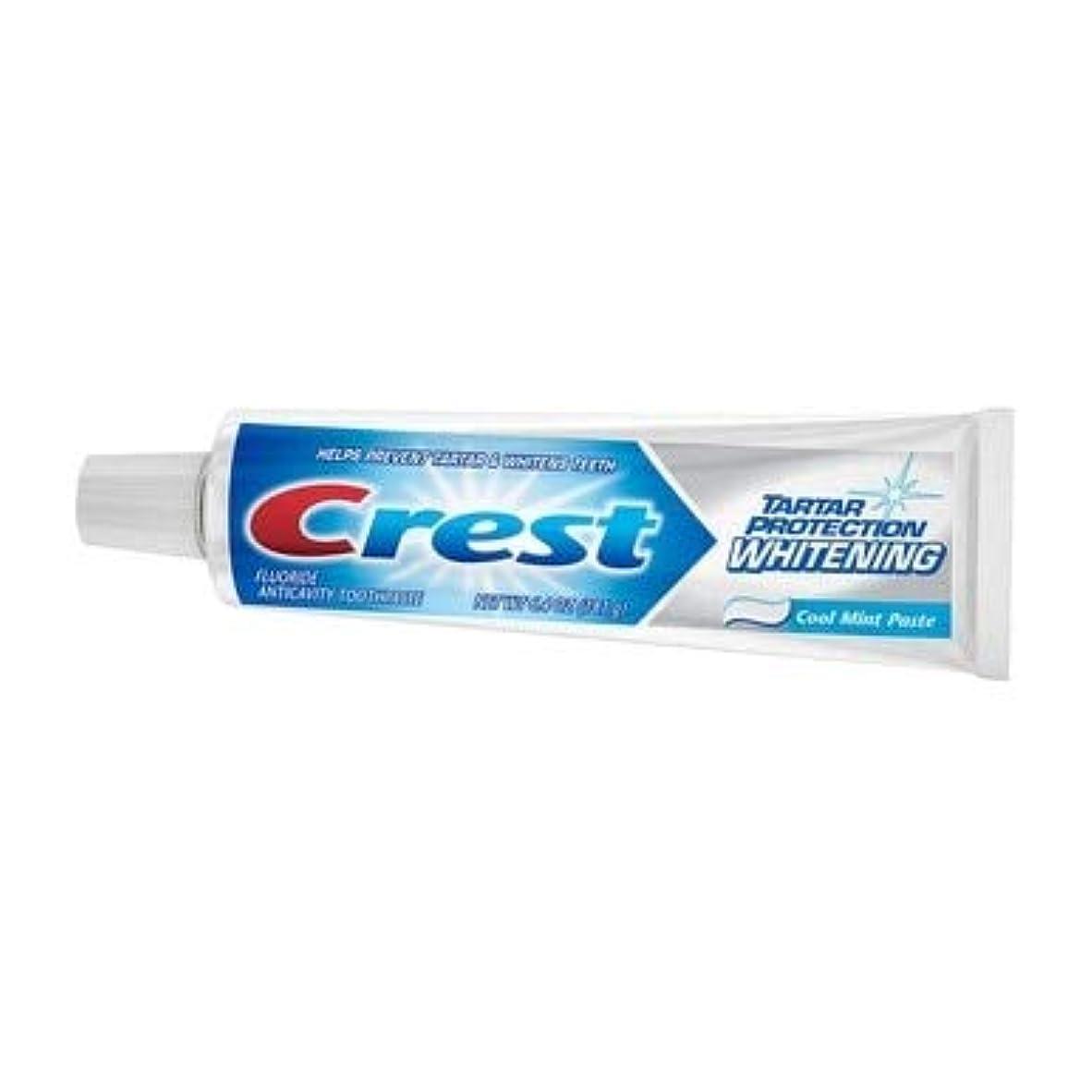 最大限未使用生きるCrest タルタル保護歯磨きホワイトニングクールミント - 6を6.4オズ、パック