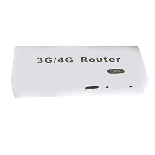 Iosのアンドロイドの携帯電話のタブレットPcのための小型3G / 4G Wifi Wlanの点のApクライアント150Mbps Rj45 Usbネットワークの無線ルーター