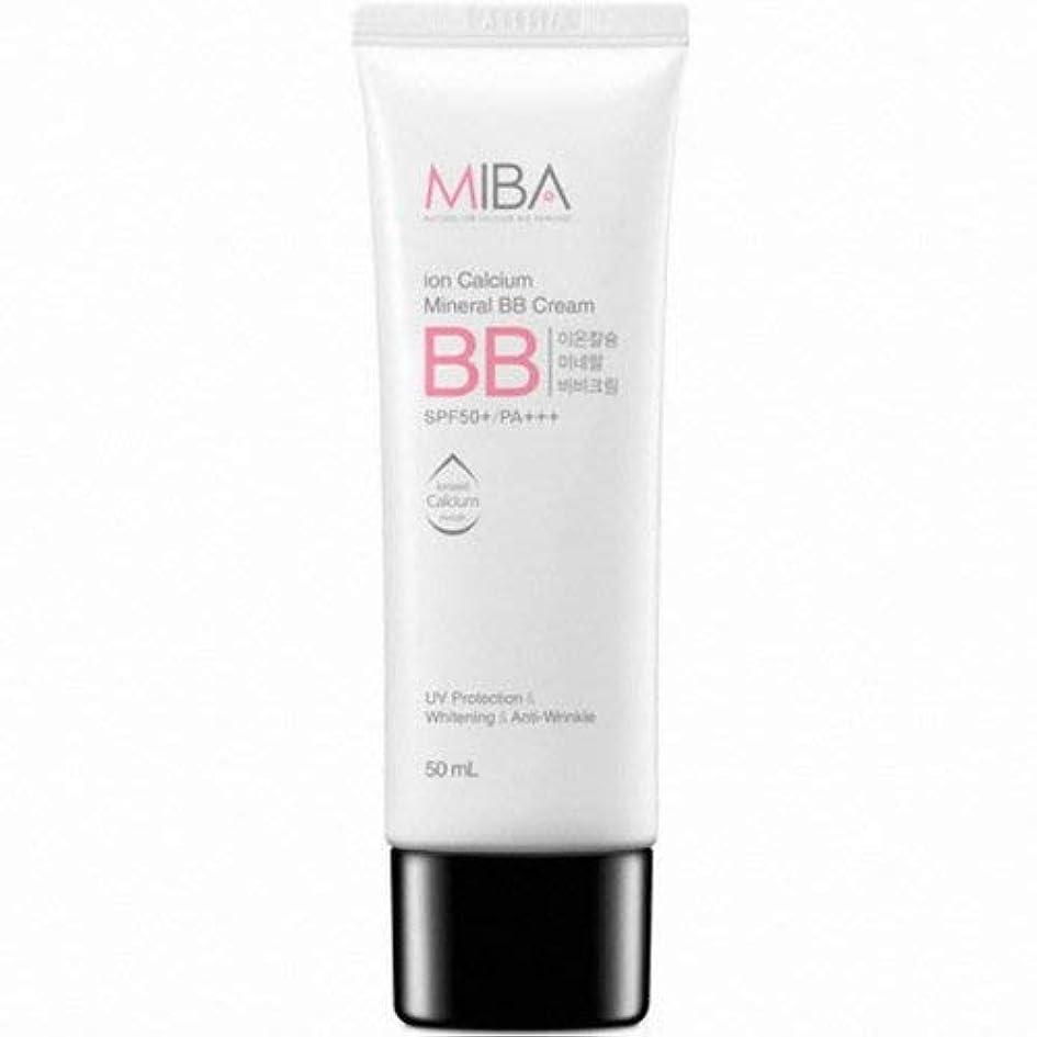 承認する委員長裁判官MINERALBIO ミバ イオン カルシウム ミネラル ビビクリーム/MIBA Ion Calcium Mineral BB Cream (50ml) [並行輸入品]