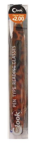 エニックス 老眼鏡 クルック CLK-27-4ブラウンデミ +2.00 補助用品