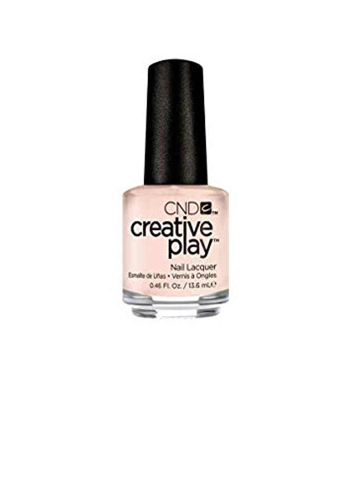 古風な真向こう忠誠CND Creative Play Lacquer - Life's a Cupcake - 0.46oz / 13.6ml