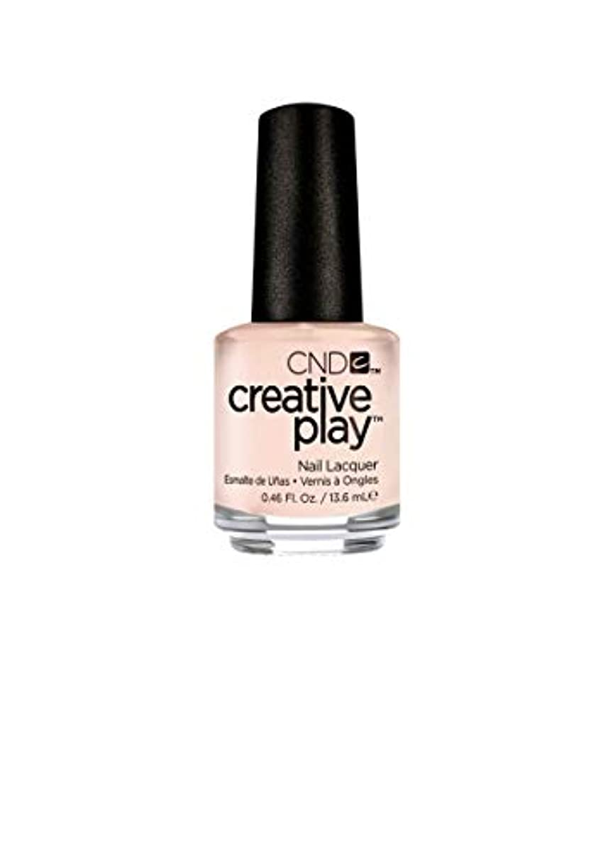 寓話天気入るCND Creative Play Lacquer - Life's a Cupcake - 0.46oz / 13.6ml