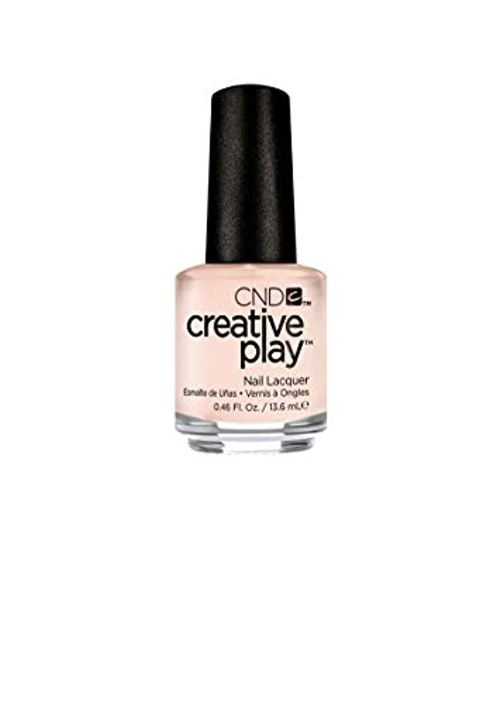 編集者ドロー建築家CND Creative Play Lacquer - Life's a Cupcake - 0.46oz / 13.6ml