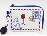 郵便局 限定 レア グッズ ムーミン ミニポーチ 朱肉付き 小物入れ カード入れ 印鑑 ハンコ入れ MOOMIN