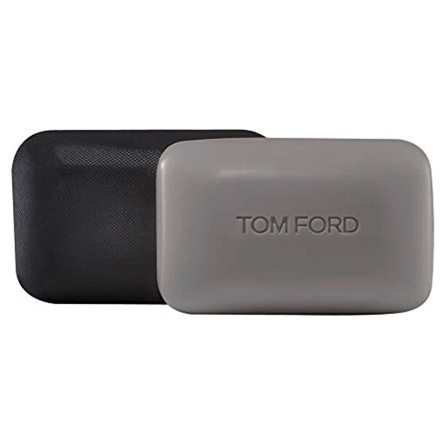 ギャングスター犬デコードする[TOM FORD] トムフォードウードウッドソープバー150グラム - Tom Ford Oud Wood Soap Bar 150g [並行輸入品]