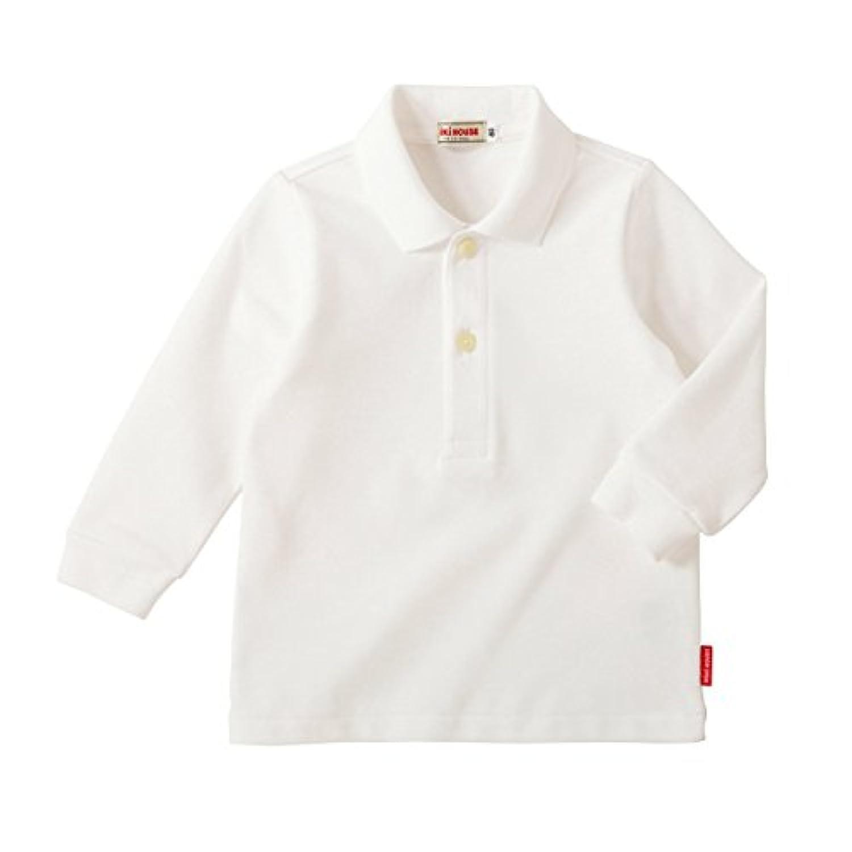 ミキハウス(MIKIHOUSE) Every Day mikihouse 長袖ポロシャツ 100cm 白(01)
