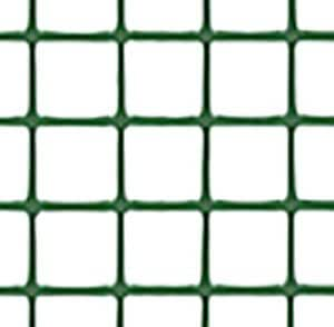 トリカルネット プラスチックネット CLV-h12 ミドリ 大きさ:幅1000mm×長さ10m 切り売り