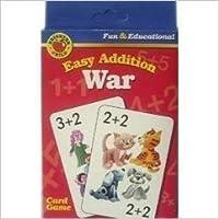 Brighter Child Easy Addition War (Fun & Educational Card Game) [並行輸入品]
