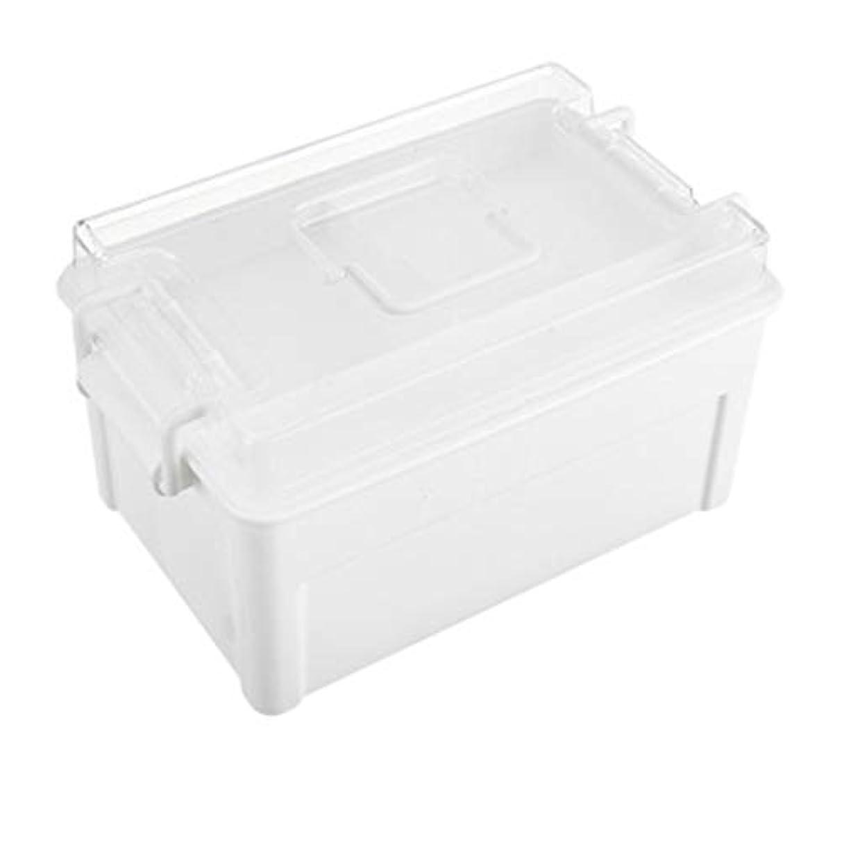 シャックルトロイの木馬悪党YYFRB 家庭用プラスチック薬箱多層超大型薬箱ポータブル透明収納キット 医学パッケージ