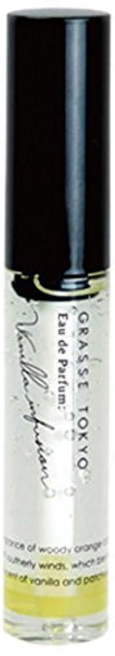 砂のかび臭い約GRASSE TOKYO オードパルファン(ジェル香水) 9g Vanilla infusion バニラインフュージョン Gel Eau de Parfum グラーストウキョウ