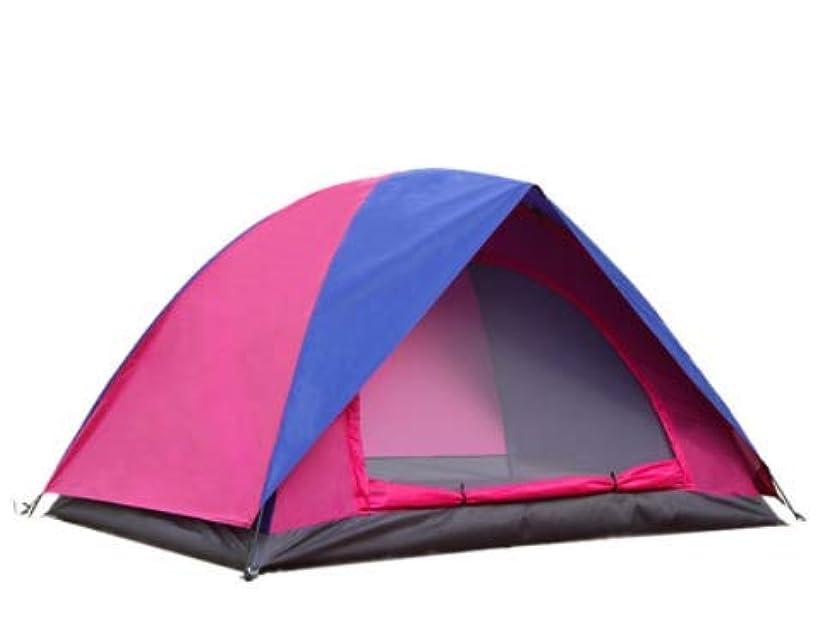 ブランド秀でるスムーズにOpliy ダブルテント屋外キャンプビーチテント200 * 150 * 110センチキャンプ用品家族キャンプ防水と防風日焼け止め防水1200ミリメートル 品質保証