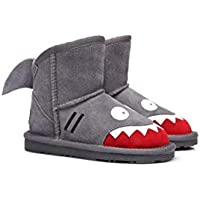 Ever UGG Kids Shark Boots in Grey #11539