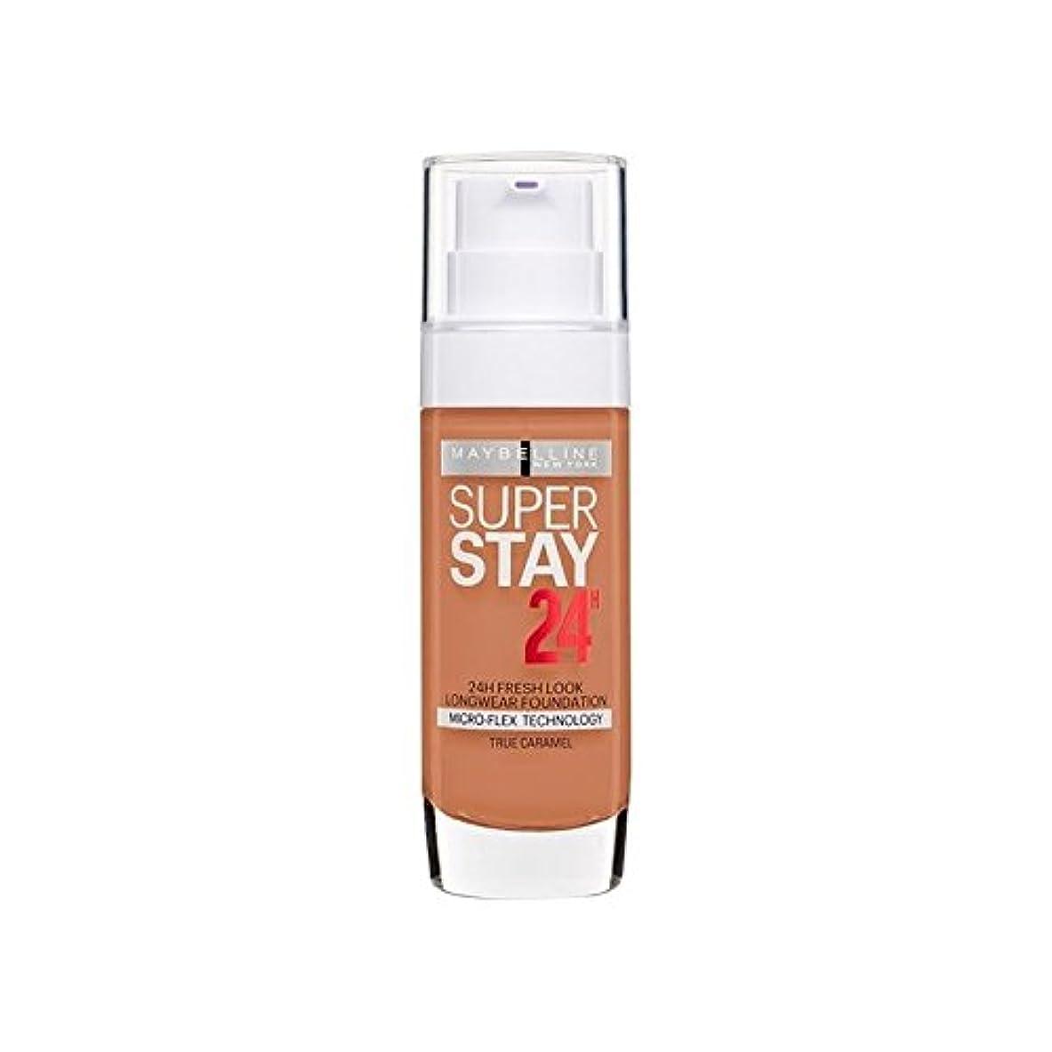 きらきら把握怠Maybelline SuperStay 24h Liquid Foundation 58 Caramel 30ml (Pack of 6) - メイベリン 24時間リキッドファンデーション58キャラメル30ミリリットル...