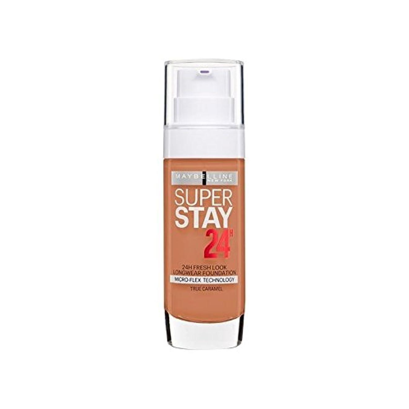 バージン昆虫を見るペッカディロMaybelline SuperStay 24h Liquid Foundation 58 Caramel 30ml (Pack of 6) - メイベリン 24時間リキッドファンデーション58キャラメル30ミリリットル x6 [並行輸入品]