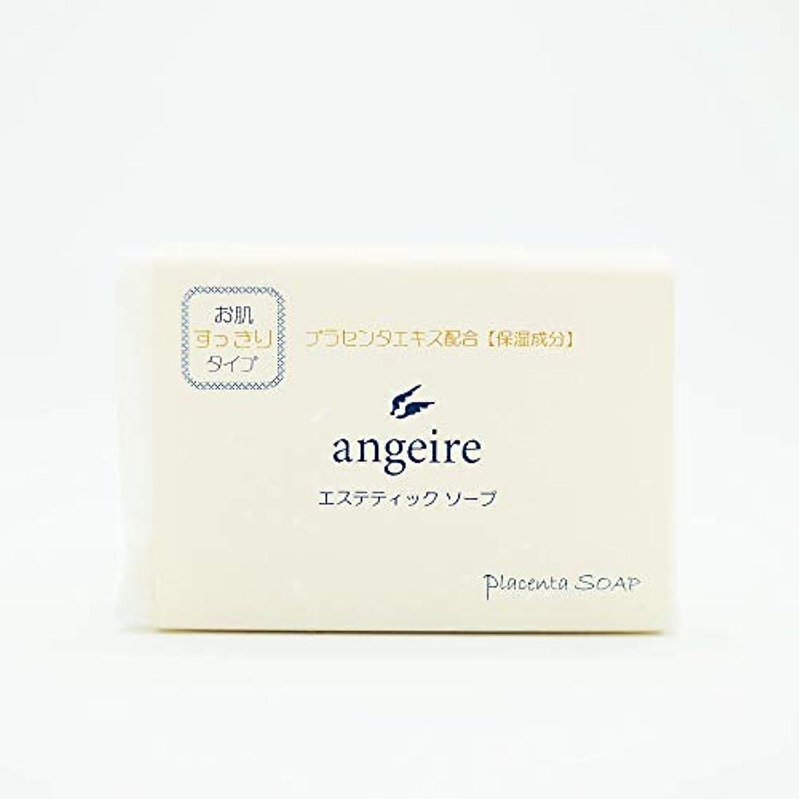 反響するサンダースマーベルangeire エステティックソープ お肌すっきりタイプ ゆずの香り