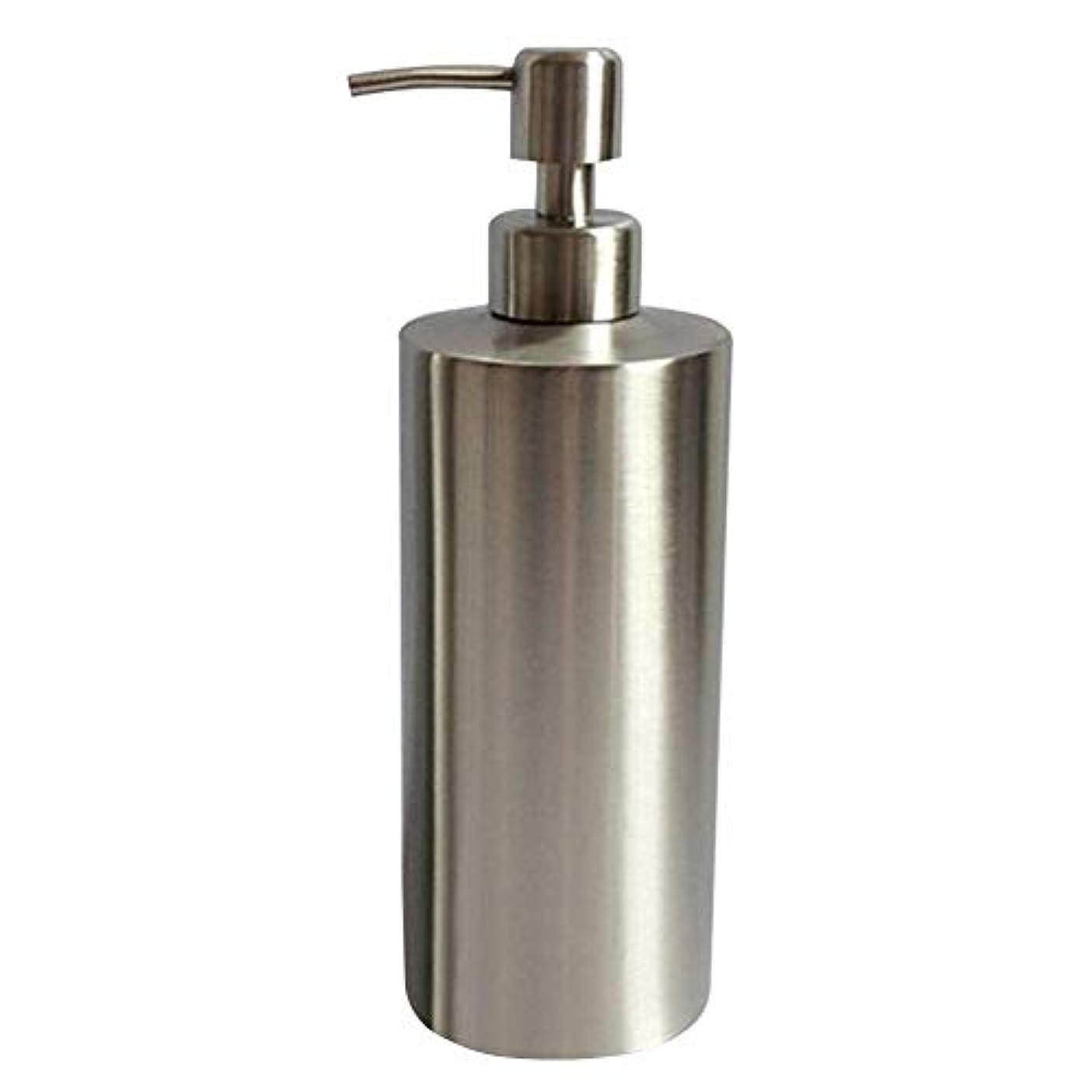 腐ったアリス定義250ML/350ml/550mlのステンレス鋼ハンドソープボトル ハンドソープ容器 キッチン用びん(高さ15.5cm、直径5.5cm)