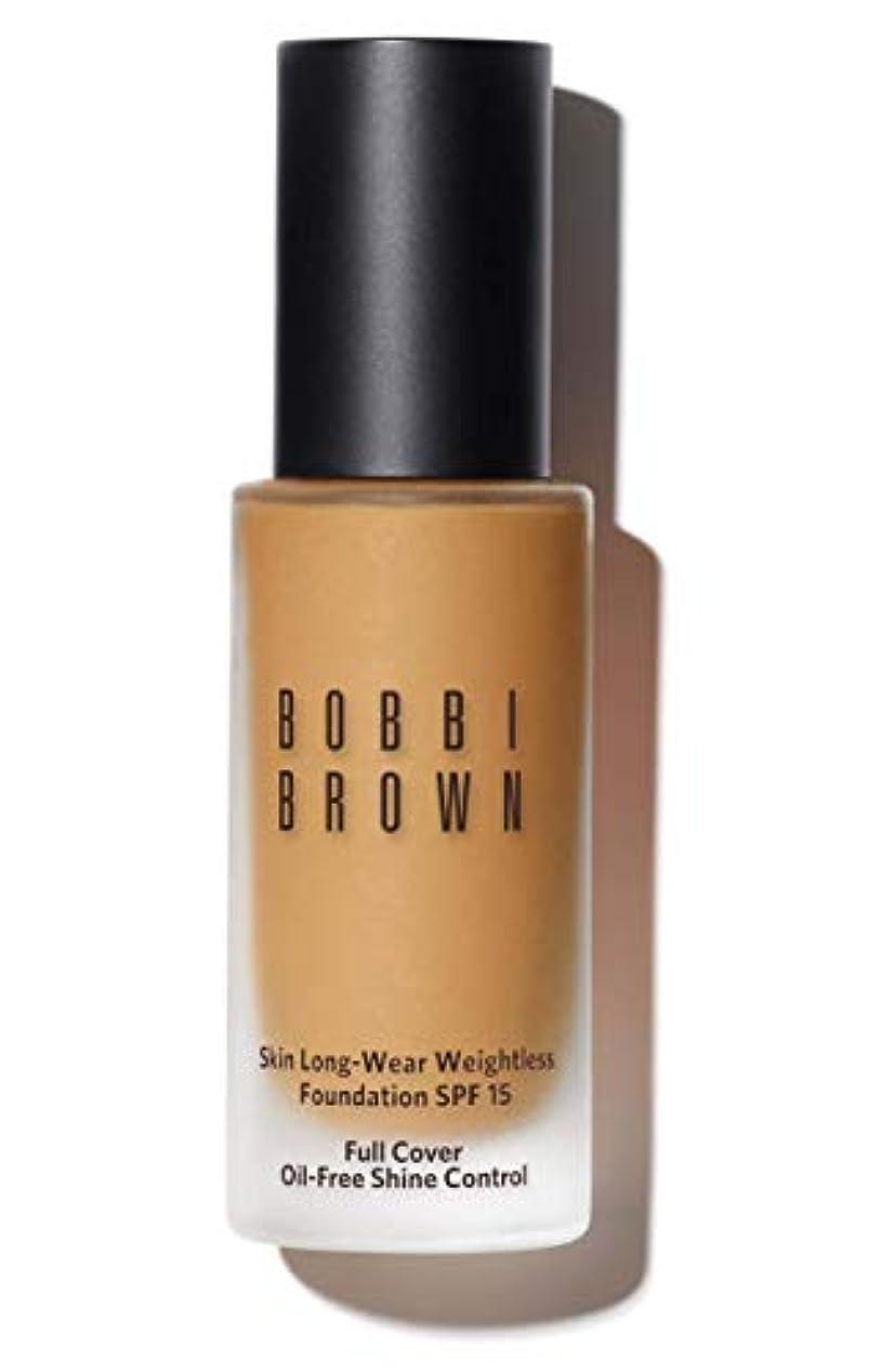 悲劇貫入予言するボビイ ブラウン Skin Long Wear Weightless Foundation SPF 15 - # Natural Tan 30ml/1oz並行輸入品