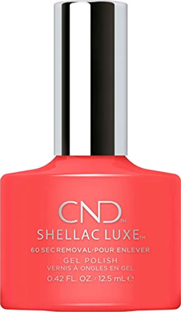 木製スティック苦CND Shellac Luxe - Tropix - 12.5 ml / 0.42 oz