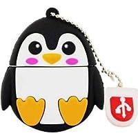 [BESTLEE] USBメモリー おもしろ メモリースティック フラッシュドライブ 高速データ転送 大容量 小型 便利 防水 耐衝撃 動物柄 ペンギン 16GB