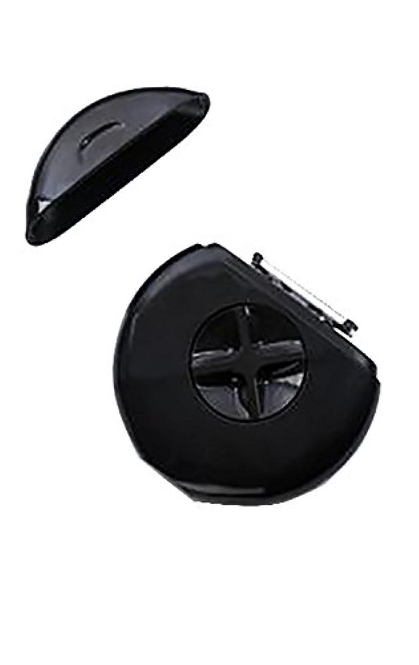 主張剣契約したSPHYNX【 スフィンクス 3-IN-1 PORTABLE RAZOR/持ち運び用カミソリ / スプレー モイスチャライザー カミソリ×2 付き/BLACK IN STYLE(ブラック)】 [並行輸入品]