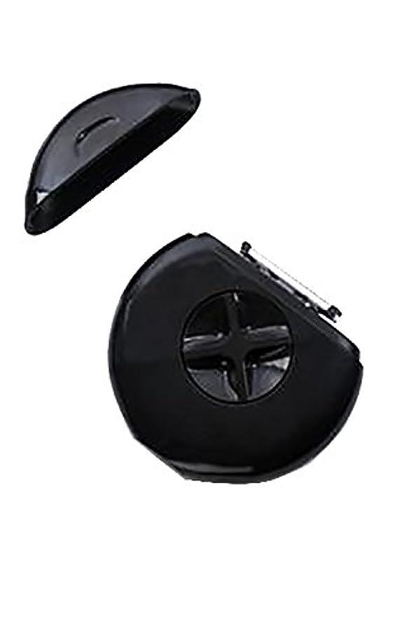 パウダーホット割り当てSPHYNX【 スフィンクス 3-IN-1 PORTABLE RAZOR/持ち運び用カミソリ / スプレー モイスチャライザー カミソリ×2 付き/BLACK IN STYLE(ブラック)】 [並行輸入品]
