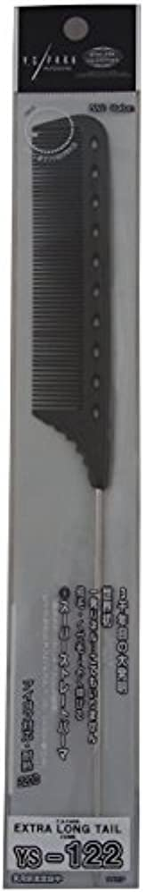 YS Park Extra Long Tail Comb 122 In CARBON from ProHairTools [並行輸入品]