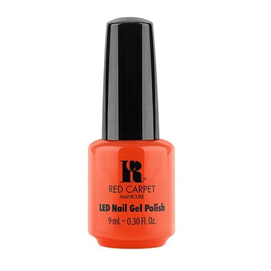 期間オーガニック狂人Red Carpet Manicure - LED Nail Gel Polish - Summer 2017 Fiji Fever - Neon Nights - 0.3oz / 9ml