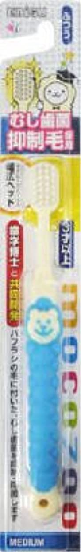 本を読む天皇採用エビス むし歯菌抑制どうぶつくんハブラシ 子供用歯ブラシ 毛のかたさ:ふつう ※ハンドルの色や動物の種類は選べません×360点セット (4901221861301)
