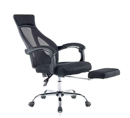 オフィスチェア メッシュ パソコン用チェア 人間工学 家庭用 オフィス用 回転イス 可動式アームレスト 座面昇降 リクライニング スポーツ用チェア 一体式 ブラック